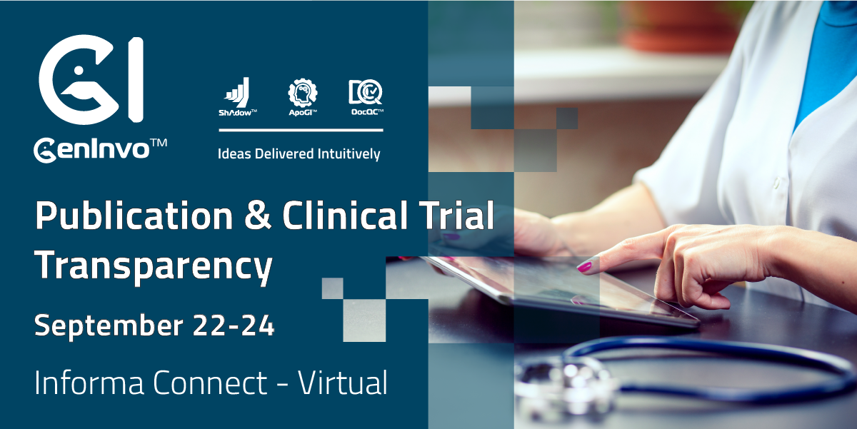 Publication & Clinical Trial Transparency